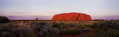 Uluru (Ayers Rock)  Stock Images