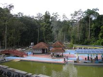 Ulu Bendul Park At Kuala Pilah. Recreational and water park at Ulu Bendul Kuala Pilah Royalty Free Stock Photos