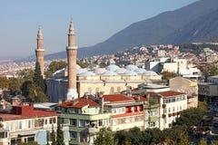 Мечеть Бурсы грандиозная или Ulu Cami Стоковая Фотография