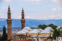 Ulu Cami Grand Mosque di Bursa, Turchia immagine stock libera da diritti
