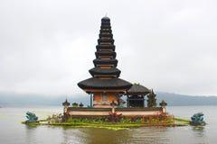 Ulu Danu In The Lake Foto de archivo libre de regalías
