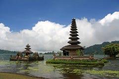 Ulu Danu Temple, lago Bratan, Bali, Indonesia Fotografie Stock Libere da Diritti