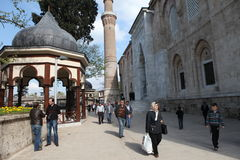 Ulu Mosque in Bursa City Stock Images