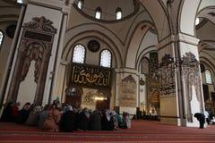 Ulu Mosque in Bursa City Stock Photos