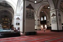 Ulu Mosque in Bursa City Stock Photo