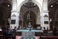 Ulu Mosque in Bursa City Royalty Free Stock Image