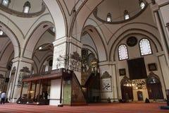 Ulu Mosque in de Stad van Slijmbeurs stock afbeeldingen