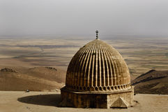 Ulu Mosque Dome, Mardin-Turkey. The mosque is located in historic core of Mardin. It has numerous inscriptive plaques from the Seljuk, Artuqid, Aq Qoyunlu and Stock Image
