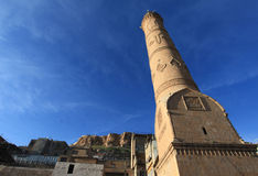 Ulu Mosque in Mardin City Stock Images