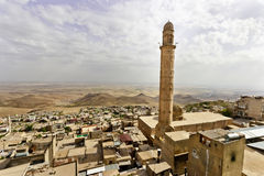 Ulu Mosque, Mardin-Turkey. The mosque is located in historic core of Mardin. It has numerous inscriptive plaques from the Seljuk, Artuqid, Aq Qoyunlu and Ottoman Stock Photo