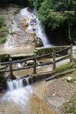 Ulu Yam-Wasserfall Lizenzfreie Stockfotos