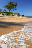 Ulua Beach in Maui Hawaii Stock Image