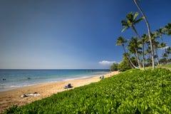 Ulua Beach, south shore of Maui, Hawaii Stock Images