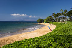 Ulua Beach, south shore of Maui, Hawaii Stock Photos