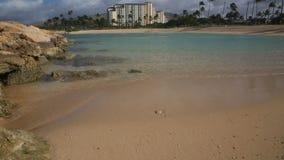 Ulua Lagoon Beach stock footage
