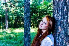 ulubiona dziewczyna sezonu lato Zdjęcia Royalty Free