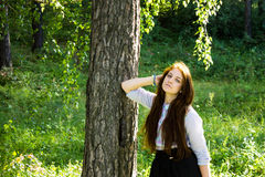ulubiona dziewczyna sezonu lato Zdjęcie Royalty Free