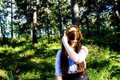 ulubiona dziewczyna sezonu lato Zdjęcie Stock