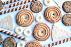 Ulubiony słodki smakołyk dla dzieci i rodziców dla każdy czasu zdjęcia royalty free