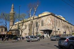 Ulucami清真大寺在伯萨 免版税库存图片