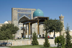 Ulugbek madrasah of Gijduvan Royalty Free Stock Photos