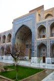 Ulugh bedelt Madrasah, Registan, Samarkand, Oezbekistan royalty-vrije stock foto