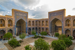 Ulugh Beg Madrasah, Registan, Samarkand, Uzbekistan Stock Image