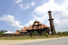 Ulul Albab Mosque (Masjid Kayu Seberang Jertih) in Terengganu Royalty Free Stock Image