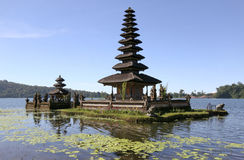 The Ulun Danau Temple, Bali, Indonesia Royalty Free Stock Image