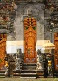 Ulun Danu印度寺庙, Bedugul,巴厘岛,印度尼西亚 免版税库存图片
