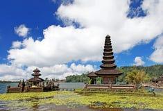 Ulun Danu寺庙- Bedugul -巴厘岛001 免版税库存照片