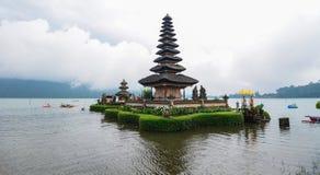 Ulun danu świątynia w Bali, Indonezja zdjęcie stock