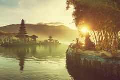 Ulun Danu. Bali Royalty Free Stock Photo