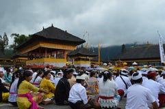 Ulun Danu Beratan świątynia Bali Obrazy Stock
