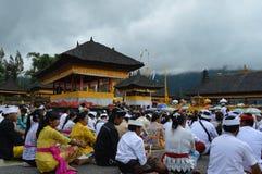 Ulun Danu Beratan świątynia Bali Zdjęcie Stock