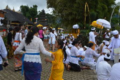 Ulun Danu Beratan świątynia Bali Fotografia Stock