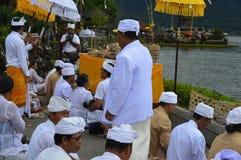 Ulun Danu Beratan świątynia Bali Obraz Royalty Free