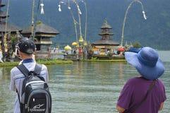 Ulun Danu Beratan świątynia Bali Zdjęcie Royalty Free