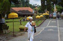Ulun Danu Beratan świątynia Bali Zdjęcia Royalty Free