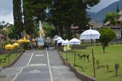 Ulun Danu Beratan świątynia Bali Zdjęcia Stock