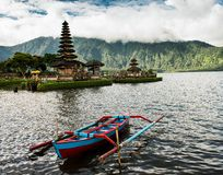 Ulun Danu Beratan, Μπαλί Ινδονησία στοκ εικόνες