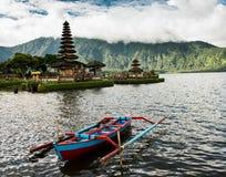 Ulun Danu Beratan, Bali Indonesien stockbilder
