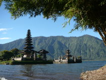 Ulun Danu Bratan Photo stock