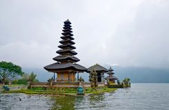 Ulun Danu Bratan temple. Royalty Free Stock Photos