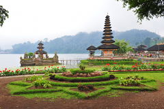Ulun Danu Bratan temple in Bali Stock Photos