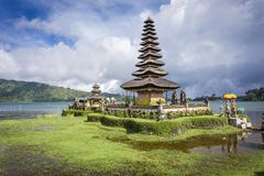 Ulun Danu Bratan Temple. The lake Temple Ulun Danu Bratan Temple located near Ubud, Bali, Indonesia Stock Image