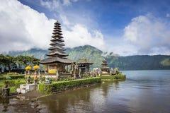 Ulun Danu Bratan Temple. The lake Temple Ulun Danu Bratan Temple located near Ubud, Bali, Indonesia Royalty Free Stock Image