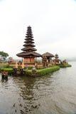 Ulun Danu tempel, Bali Fotografering för Bildbyråer