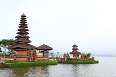 Ulun Danu tempel, Bali Royaltyfria Bilder
