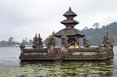 Ulun Danu temple. Beratan Lake in Bali Indonesia Stock Photos